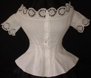 1860's Corset Cover