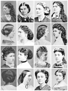 A Variety of Hairstyles