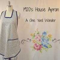 1920's House Apron