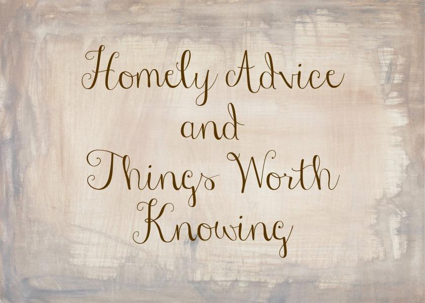 april advice