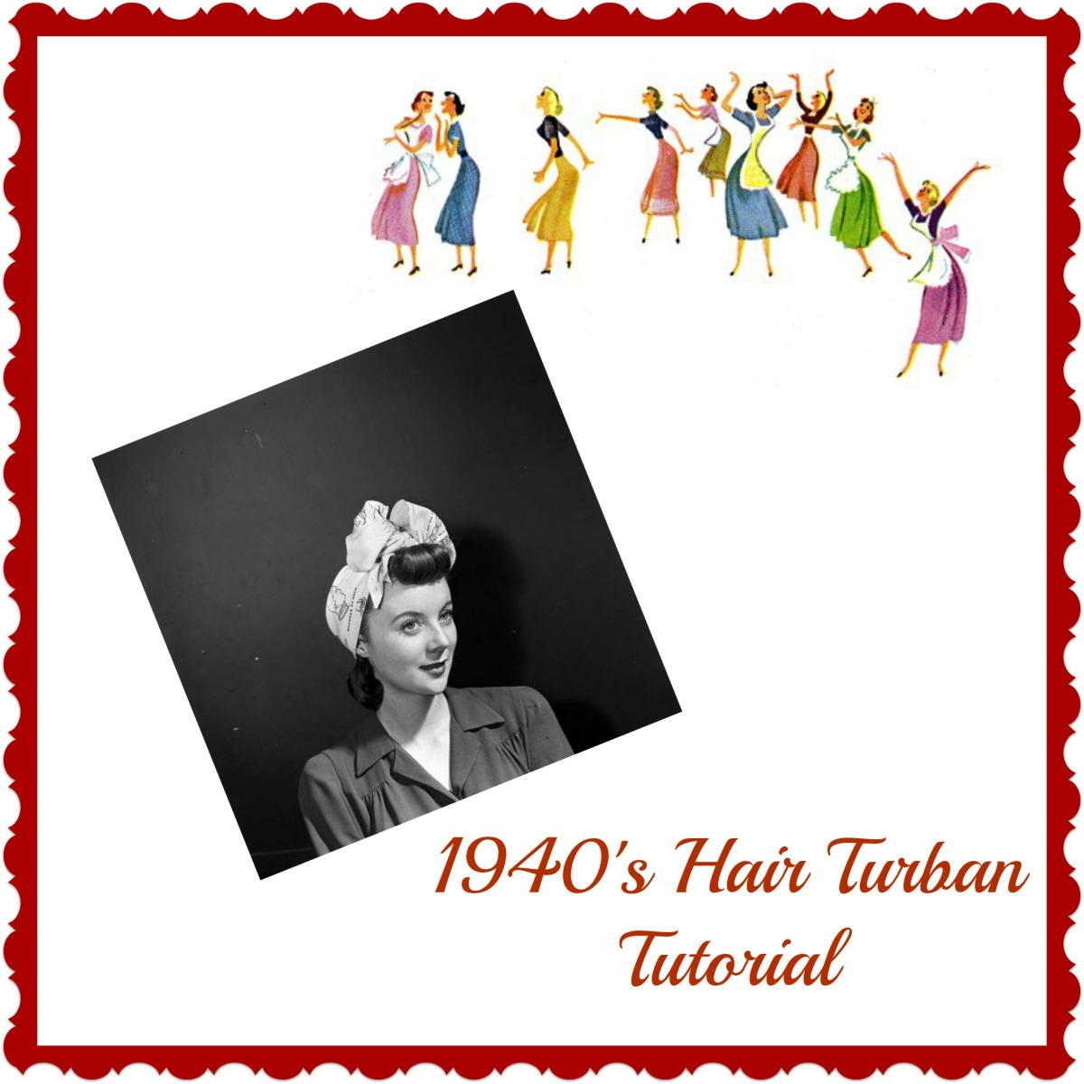 Accessories: 1940's Hair Turban