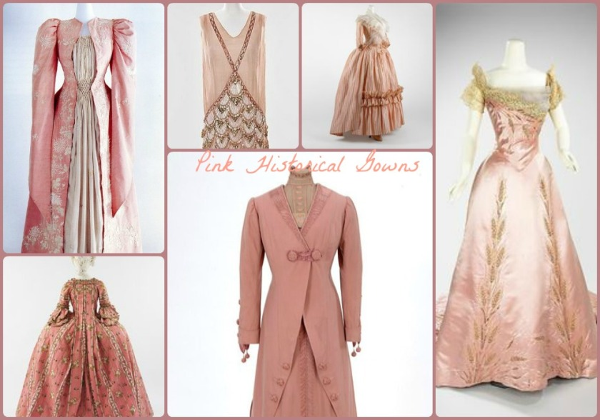april pink gowns