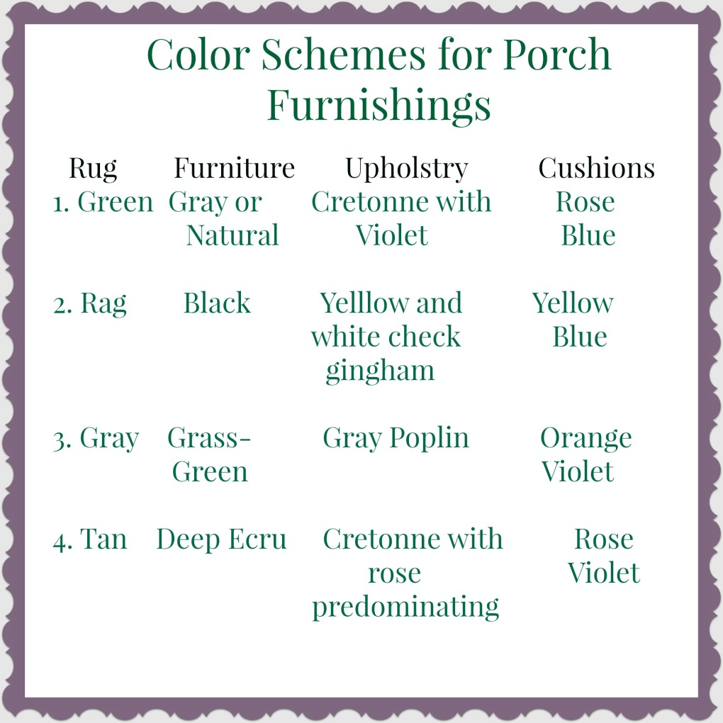 june porch colors