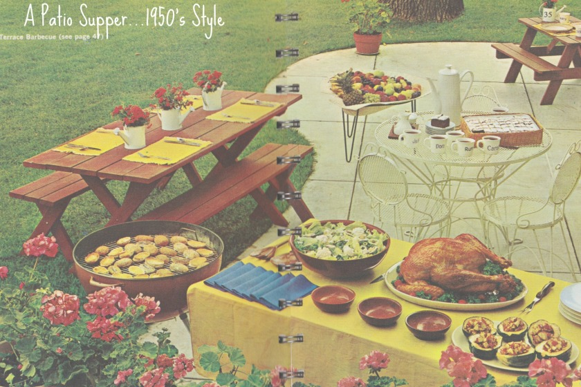 Patio supper feature