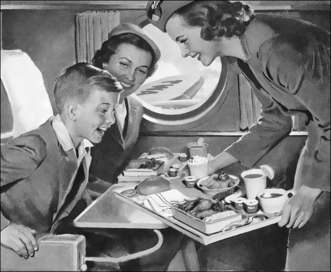 Stewardess-vintage