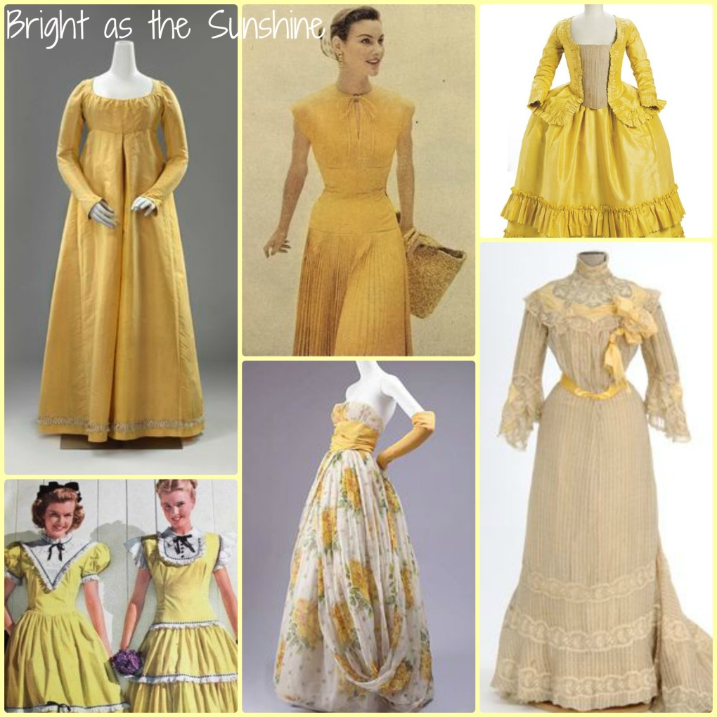 Yellow Gown Collage