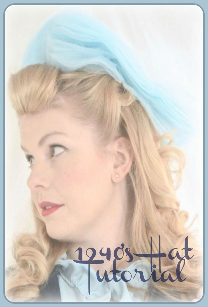 1940's Hat Tutorial Cover