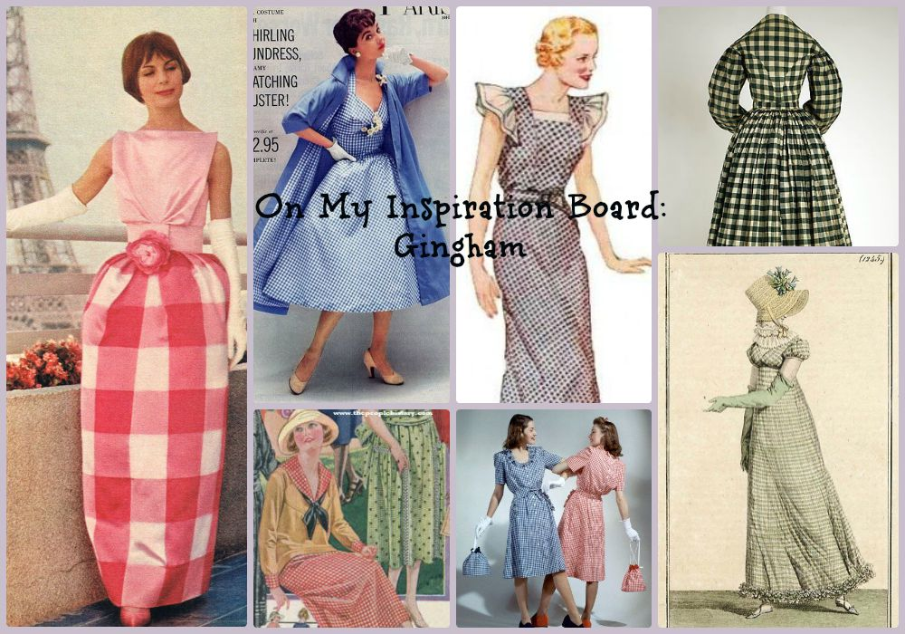 August Inspiration Gingham