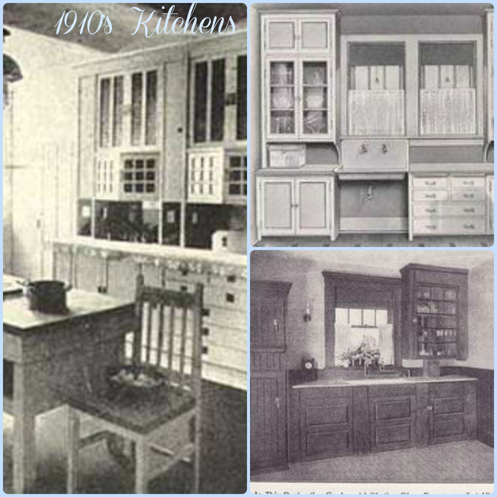 A sampling of vintage kitchens aimee 39 s victorian armoire - S kitchens ...