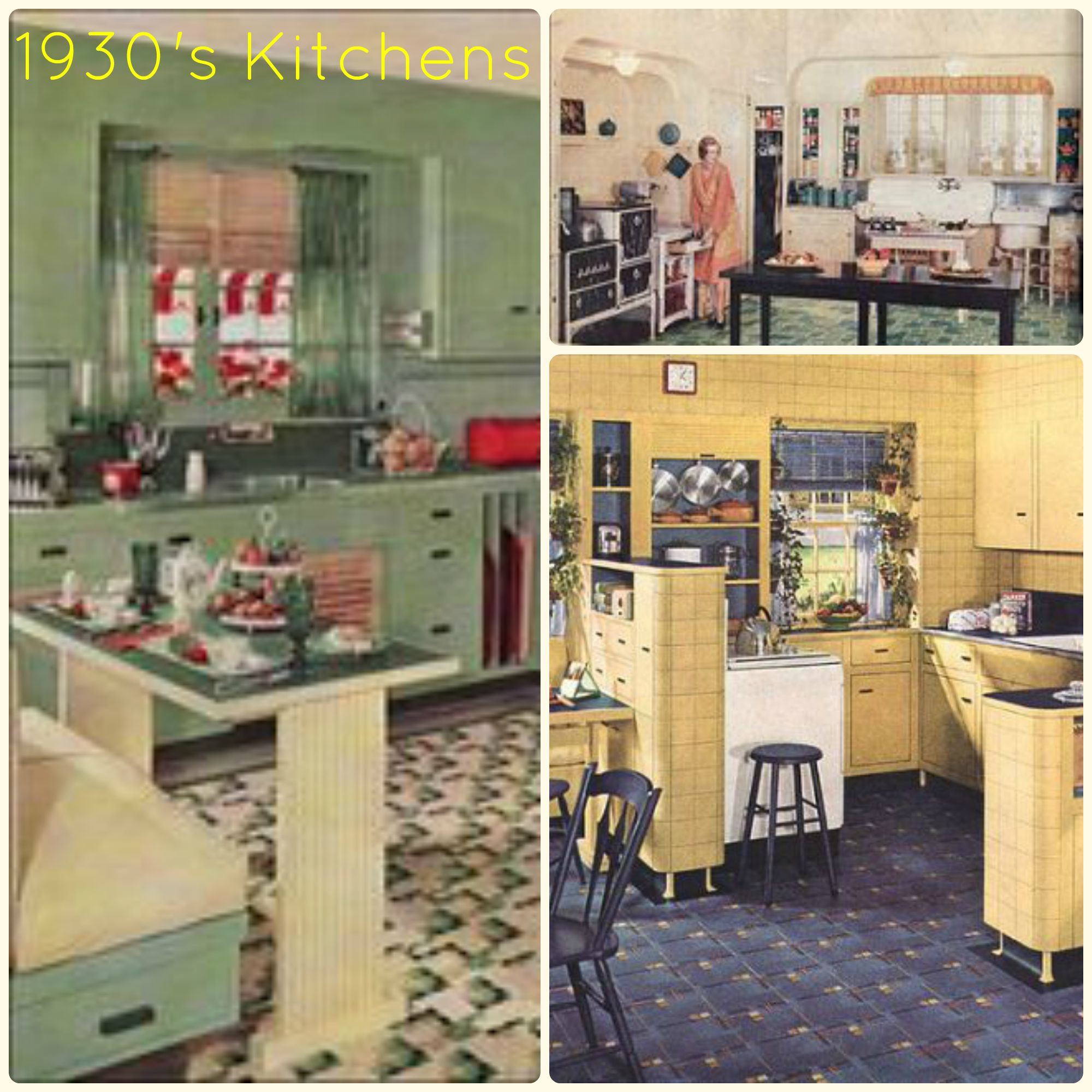 28+ [ 1930 kitchen design ] | 1930s kitchen appliances kitchen
