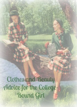 Clothes and Beauty Advice for the College Bound Girl