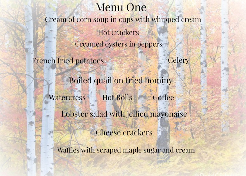 Autumn Supper Menu1