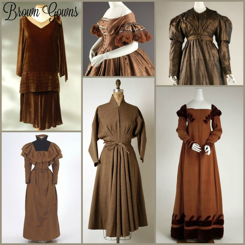 Brown Gowns