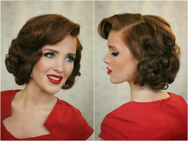 Freckled_fox_hair_tutorial_retro_vintage_rockabilly_pin-up_Marylyn_Monroe_elisabeth_taylor_Faux_bob_Upright_pin_curls_