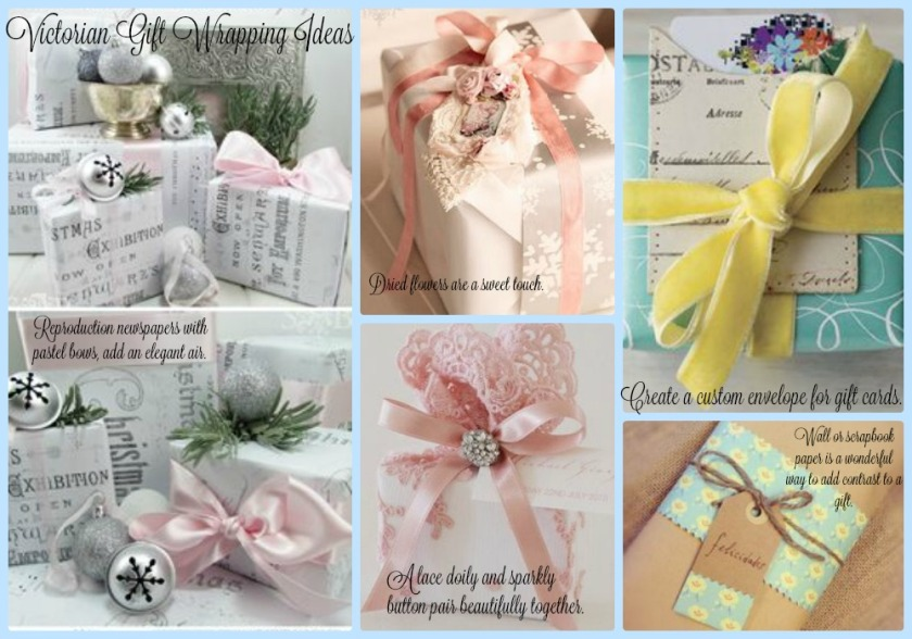 Victorian Gift Wrapping Ideas