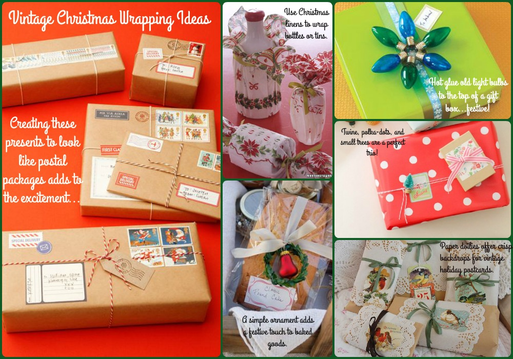 Vintage Gift Wrapping Ideas