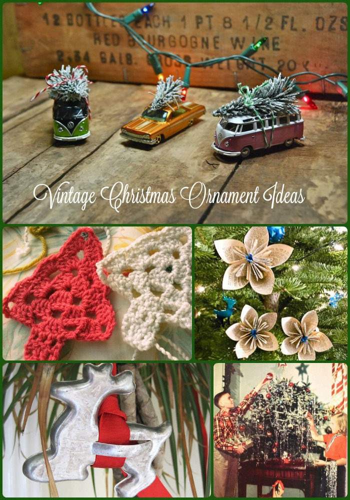 vintage ornament ideas