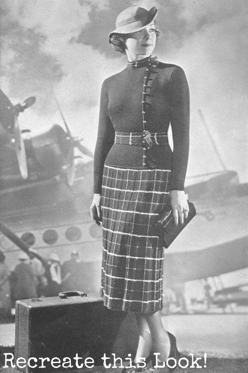 1930's look
