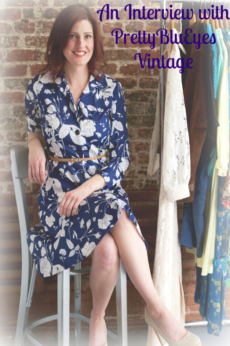 An Interview with Vintage Shop Owner Christina McAlpine of PrettyBluEyes Vintage