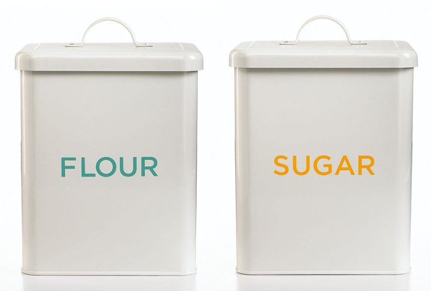 flour-sugar