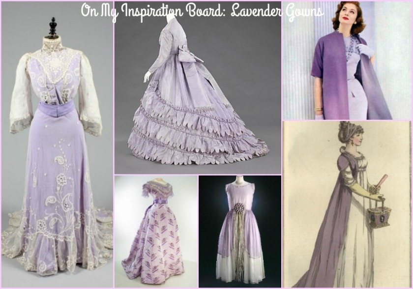 lavender gowns