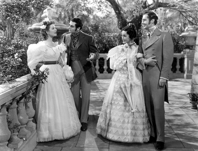 Mandatory Credit: Photo by Everett Collection / Rex USA ( 605209FK ) PRIDE AND PREJUDICE, Greer Garson, Laurence Olivier, Maureen O'Sullivan, Bruce Lester Various - 1940s