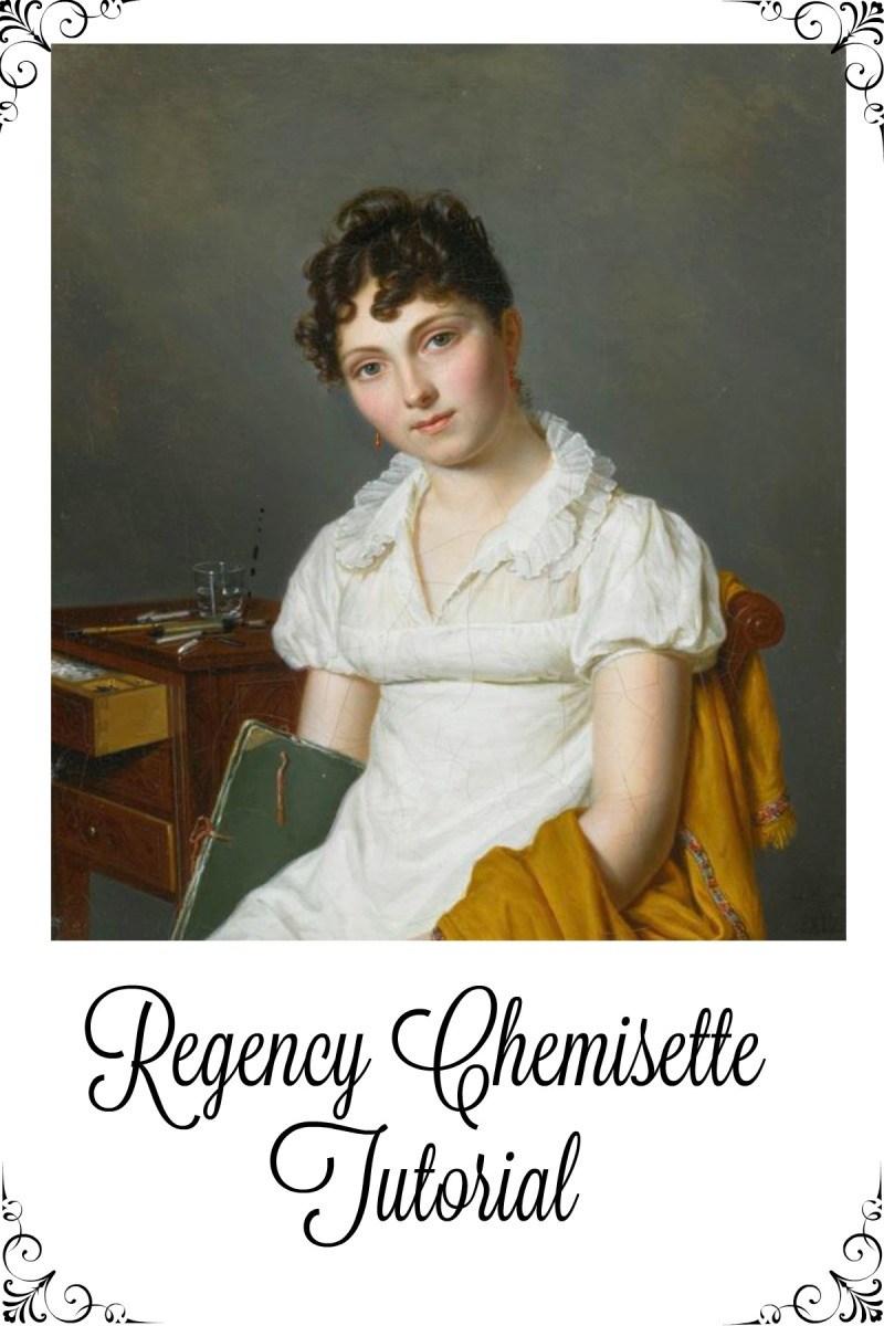 Regency Chemisette Video Tutorial